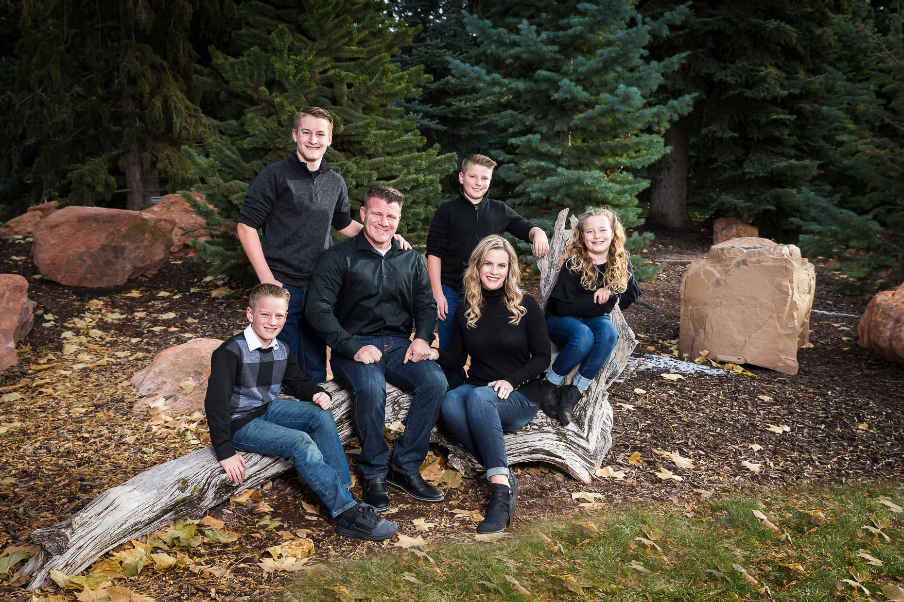 Steve Sheri Brown Family SUU campus Image by Rick Thompson Photography