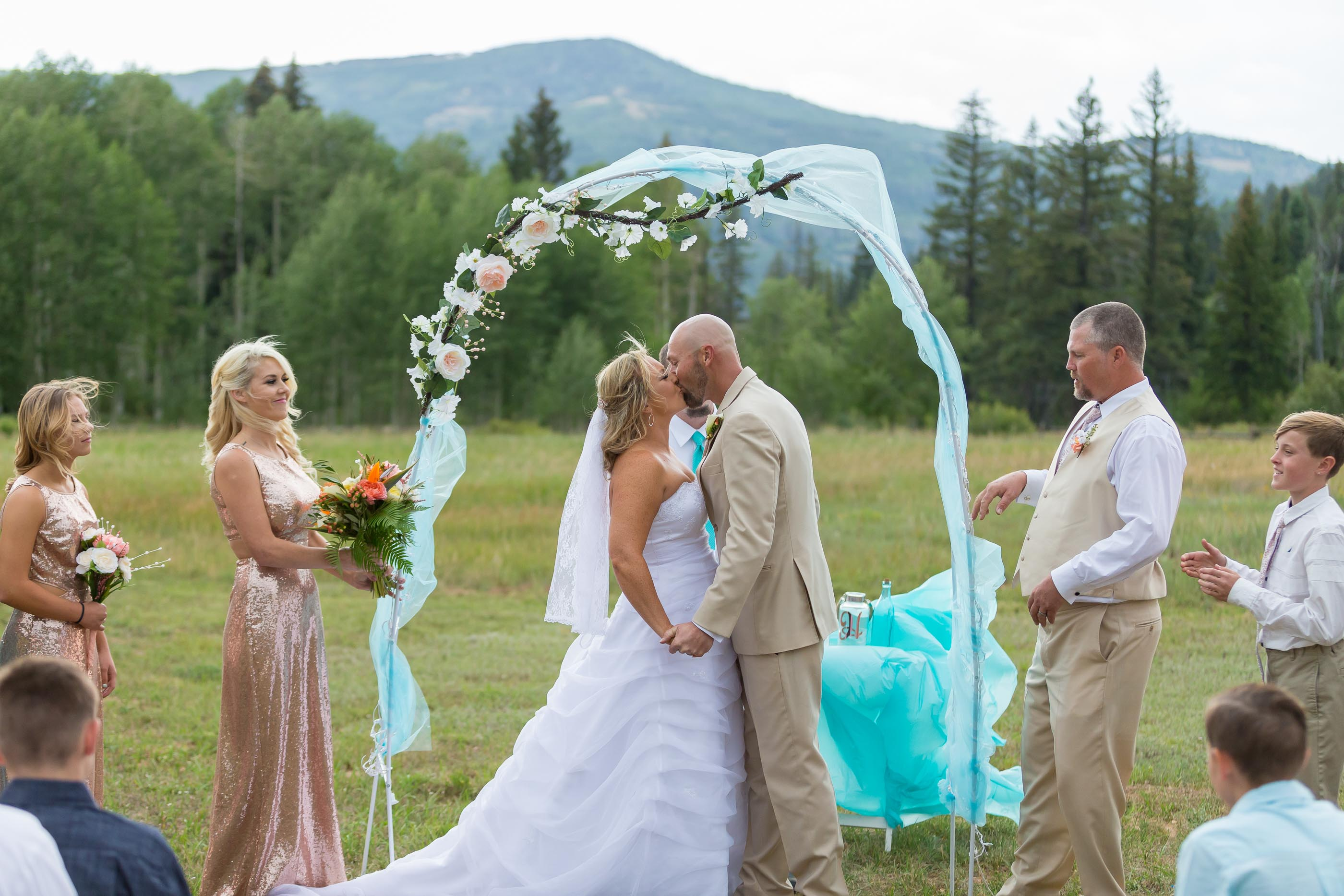 Cedar City Mountain Wedding Shandi Bruno