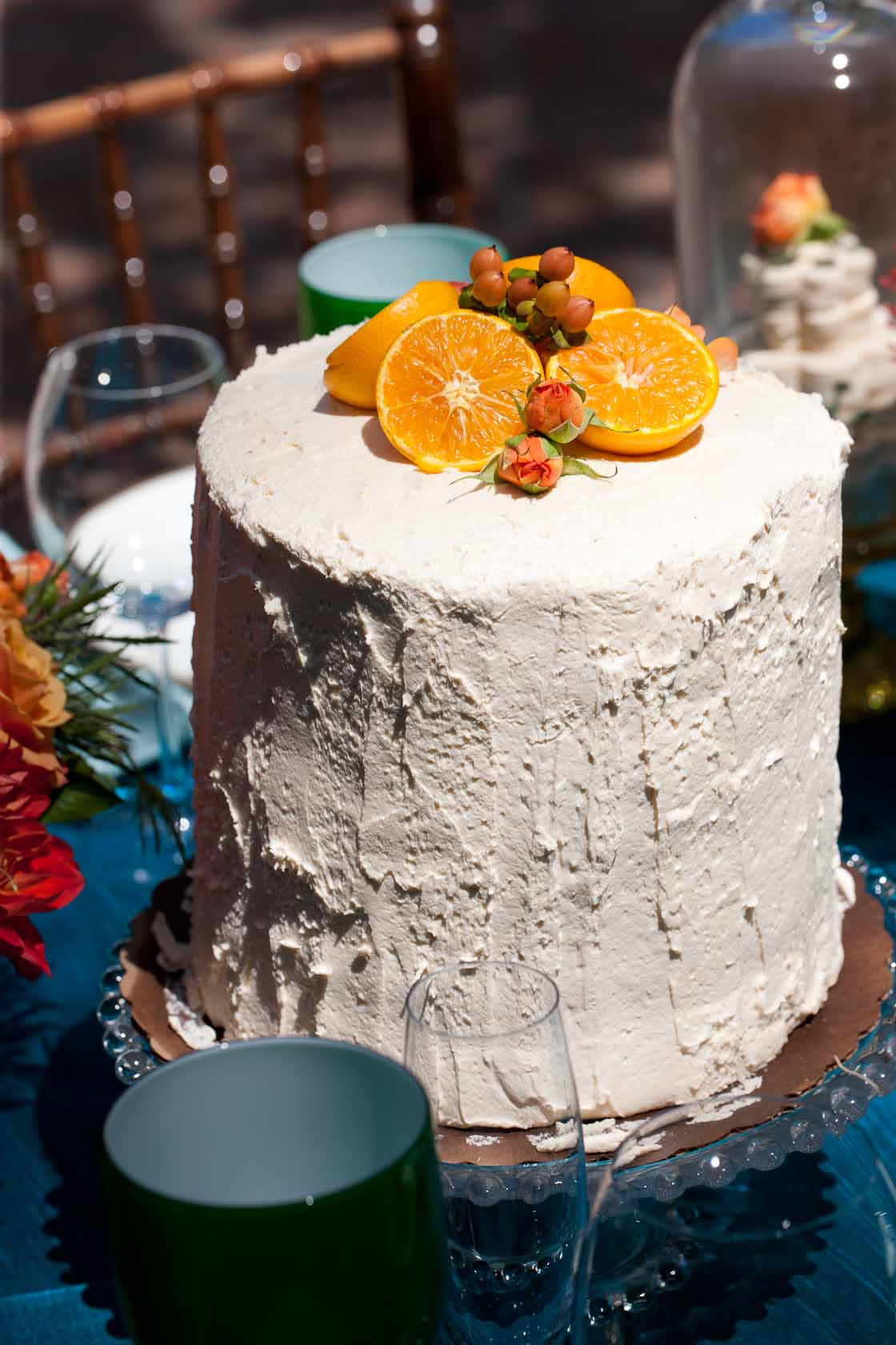 Wedding Cake at the Rancho Las Lomas Resort