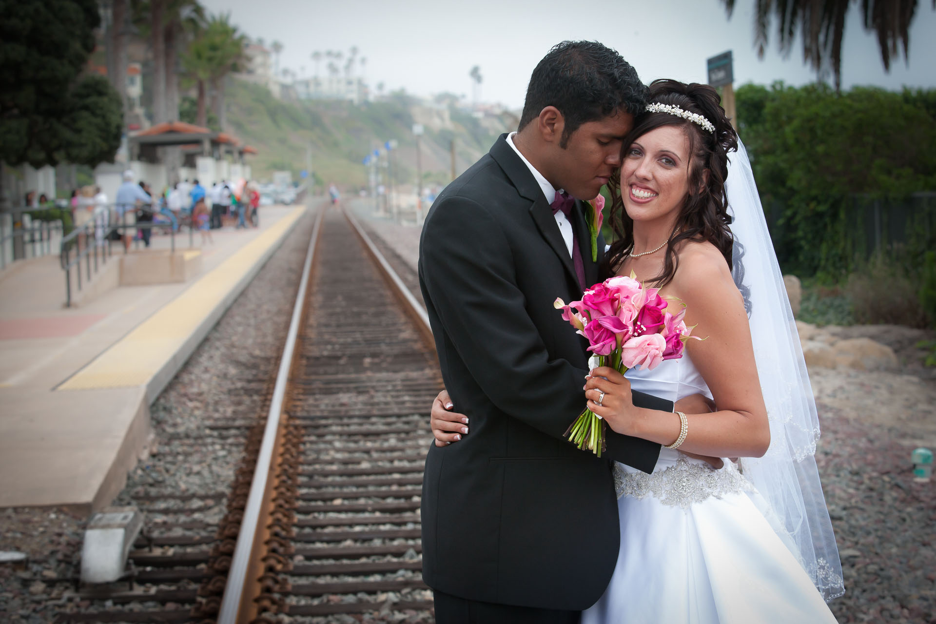 Michelle and Nick Vallejo Wedding Images Ole Hanson Community Center San Clemente 01045