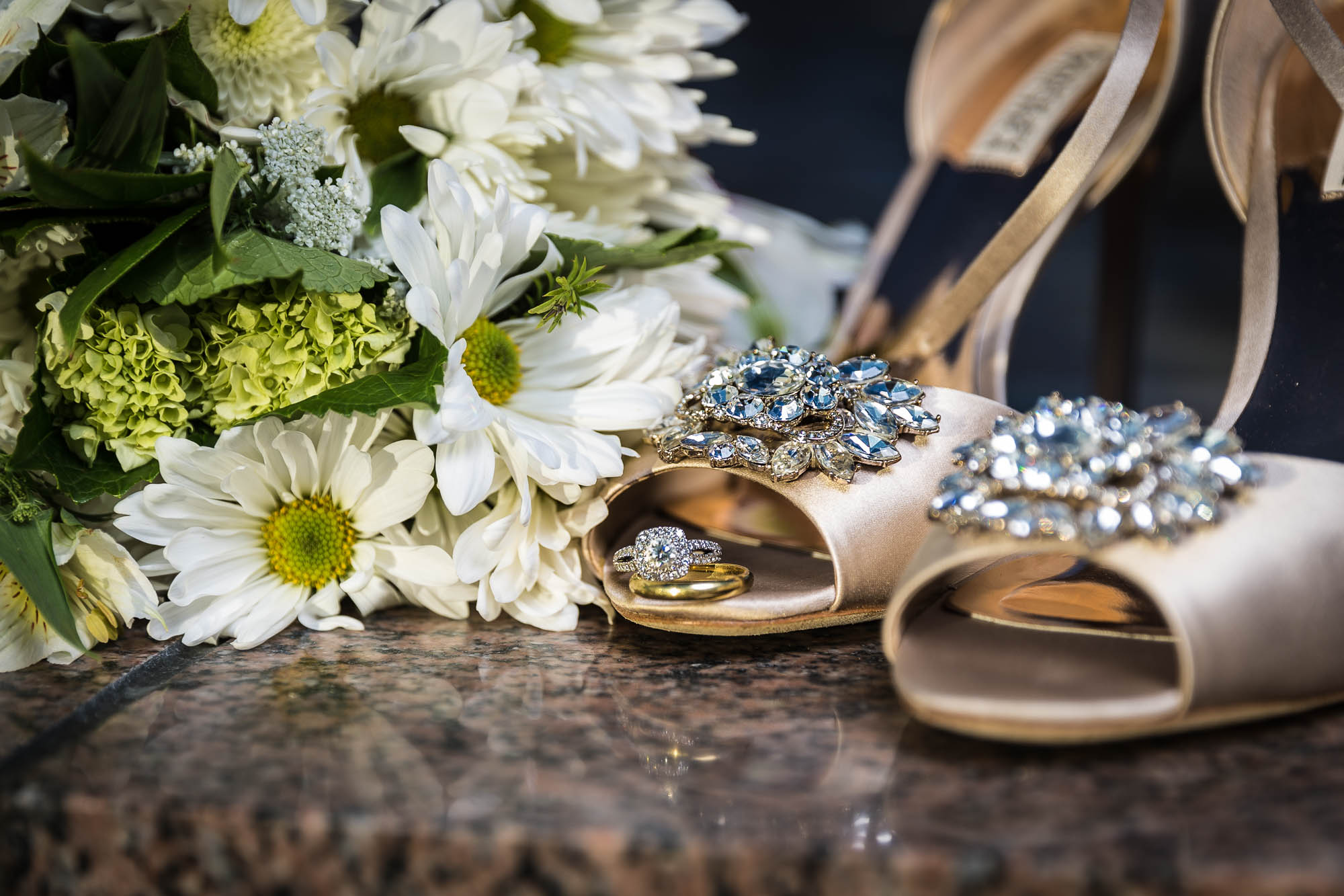 Wedding Shoes & Ring